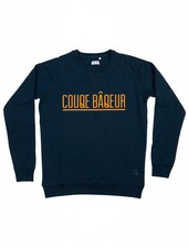Cheaque Cheaque, Sweater Couqe Baqeur, Donkerblauw