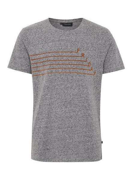 Casual Friday Casual Friday, T-Shirt Print, Grey
