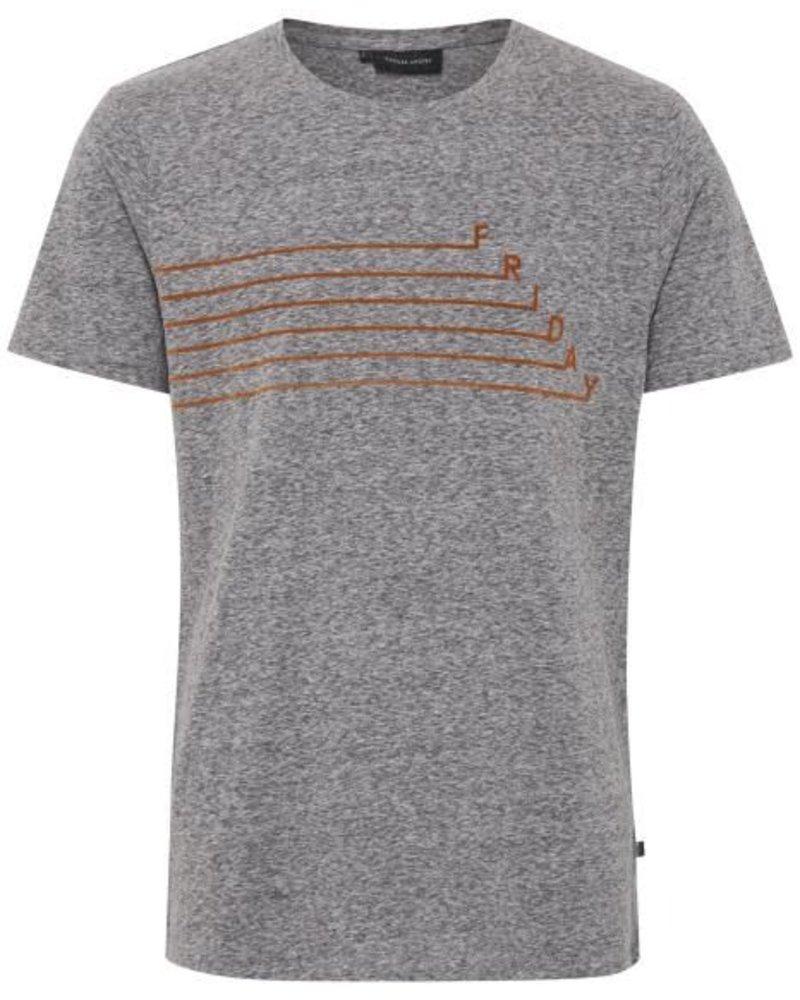 Casual Friday Casual Friday, T-Shirt Print, Grey