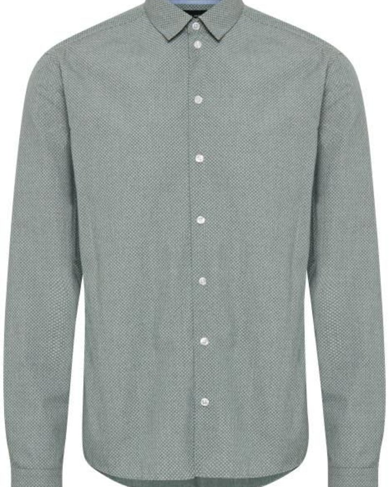 Casual Friday, Blouse Slim Fit, Pine Green