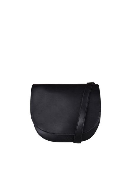 Mae&Ivy Mae & Ivy, Ava Half Moon Crossbody Bag, Black