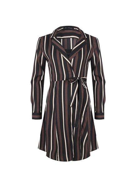 Lofty Manner Lofty Manner, Dress Lizeth, Black Striped
