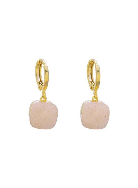 KUIF YW, Earrings call it magic, Gold/Beige