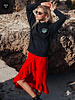 Colourful Rebel Colourful Rebel, Renee Wrap Skirt, Red