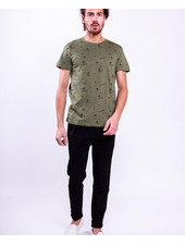 Colourful Rebel Colourful rebel, Basic tee AOP, Green