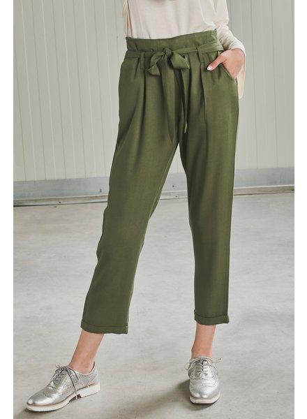 24Colours 24 Colours, Silke pants, Green