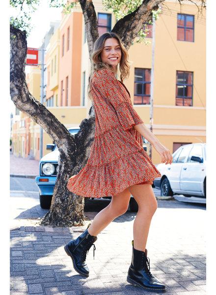 Ydence Ydence, Dress Fiona, Orange