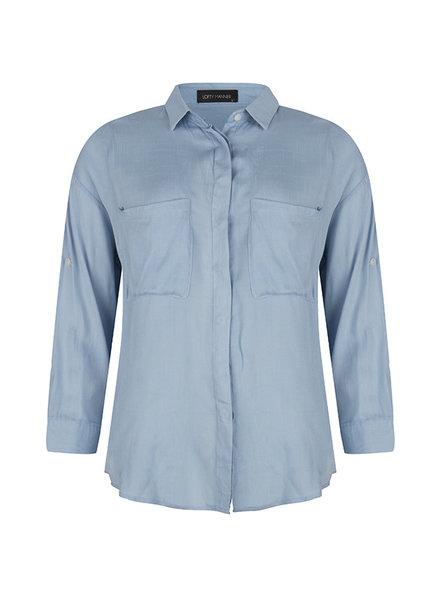 Lofty Manner Lofty manner, Blouse Agusta, Light blue