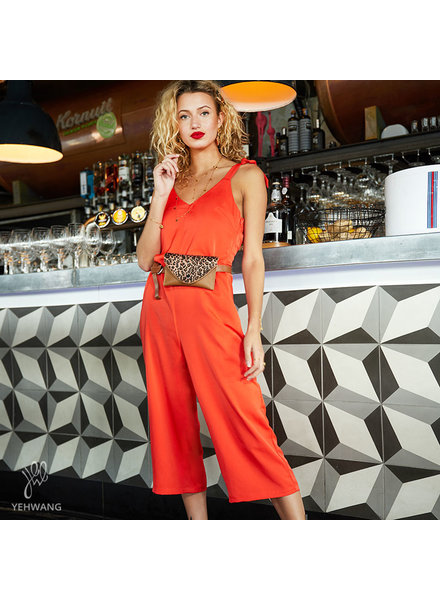 YW, Jumpsuit Leap forward, Orange