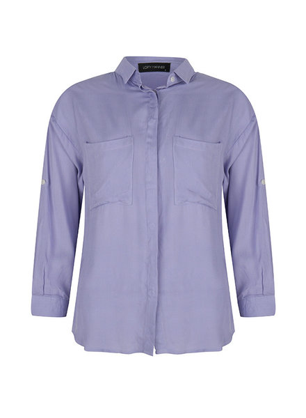 Lofty manner, Blouse Augusta, Purple