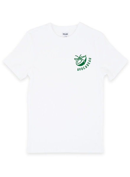 Cheaque Cheaque, T-Shirt Avocadeau, White