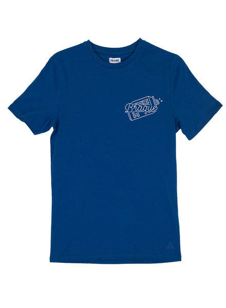 Cheaque Cheaque, T-Shirt Braque, Blue