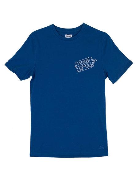 Cheaque, T-Shirt Braque, Blue