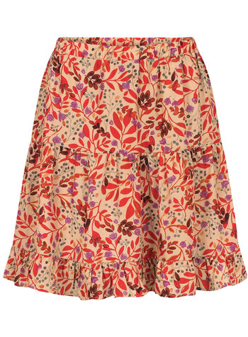 Ydence Ydence, Skirt Isa, Red flower