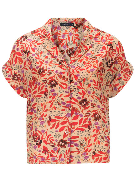 Ydence Ydence, Blouse Roxan flower, Red
