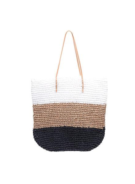 YW, Beach Bag, Black