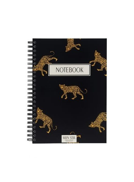 Mijn Stijl Mijn stijl, Notebook panter, Black