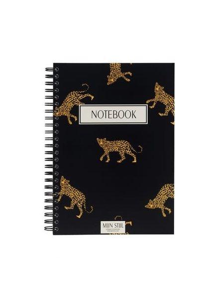 Mijn stijl, Notebook panter, Black