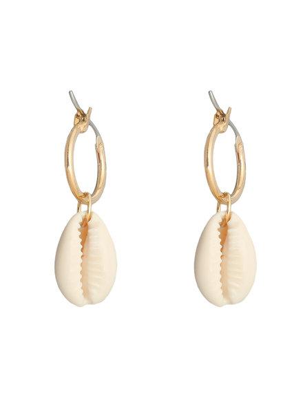 YW, Earrings Ocean Breeze, Gold