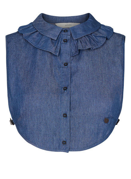 Nümph Numph, Bennedetta Collar, Blue Denim