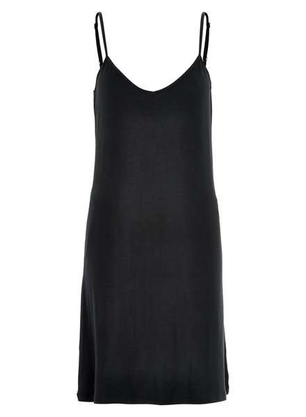 Nümph Jaliyah Slip Dress, Caviar