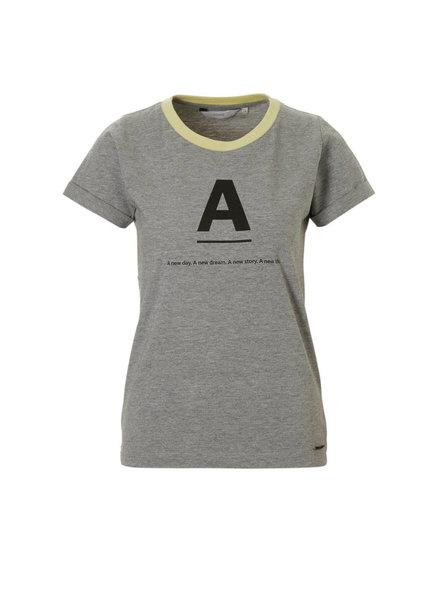 Nümph Nümph, T-shirt Katy, Grey