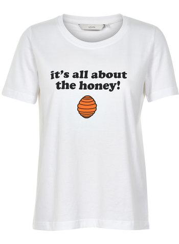 Nümph Nümph, T-shirt Laras, White