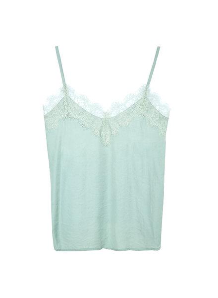 YW, Basic top kant, Pastel green