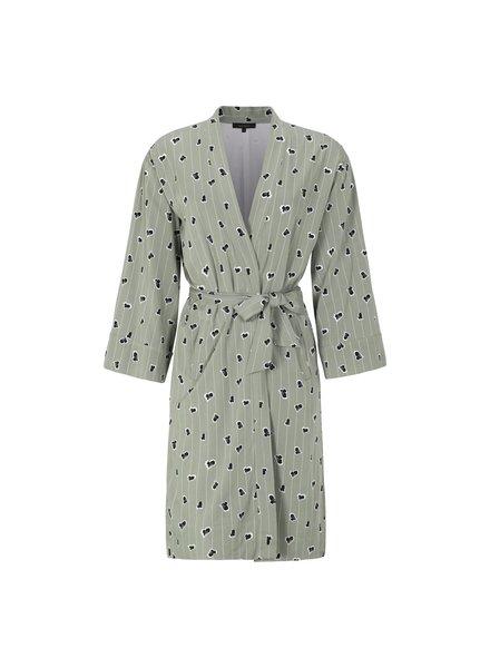 Lined Ease Kimono, Green