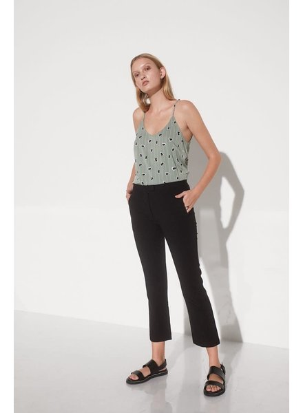 Soft Rebels, Lined Ease Strap Top, Green