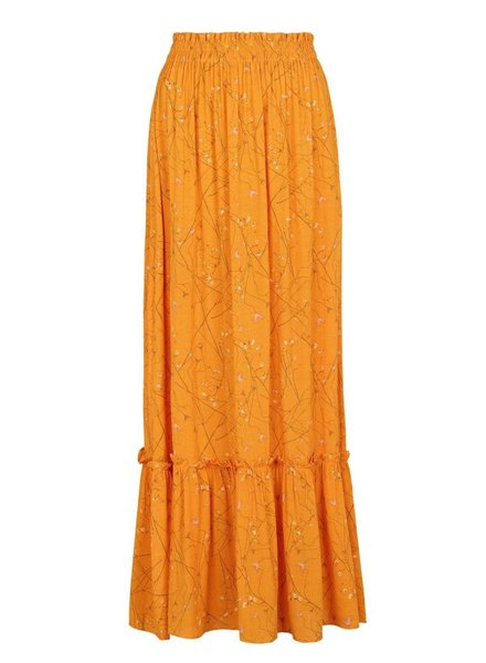 Stilks Maxi Skirt, Yellow
