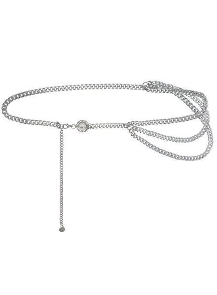 KUIF YW, Chain belt when in rome, Silver