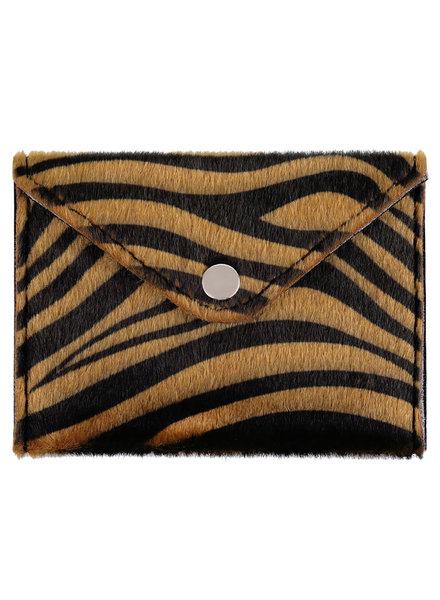 KUIF YW, Portomonnee Zebra, Brown