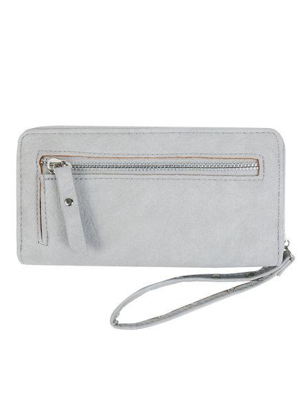 YW, Wallet Trend Zipper, Grey
