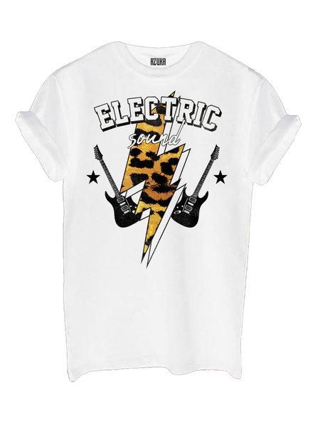 T-shirt Electric, White