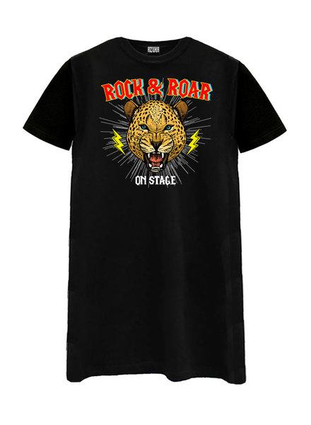 T-shirt dress Rock&Roar, Black