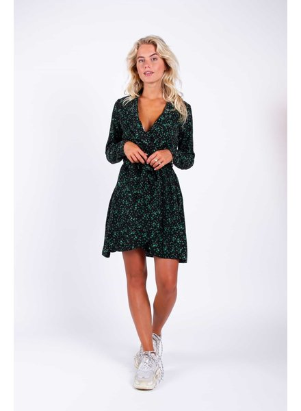Colourful Rebel Colourful Rebel, Ditzy Floral Blazer Dress, Green