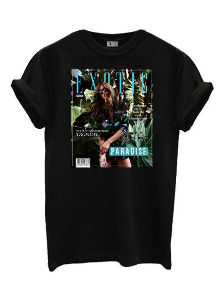 T-shirt Exotic, Black