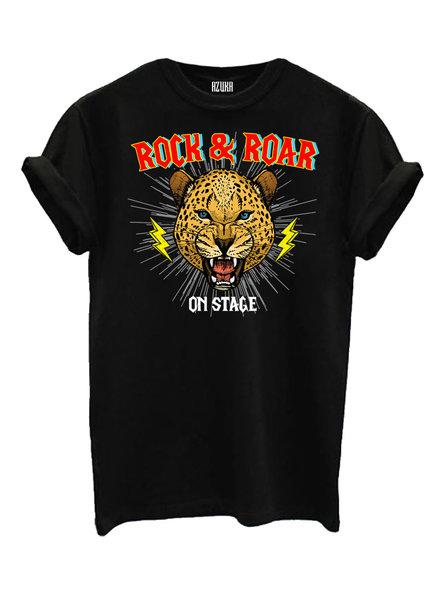T-shirt Rock&Roar, Black