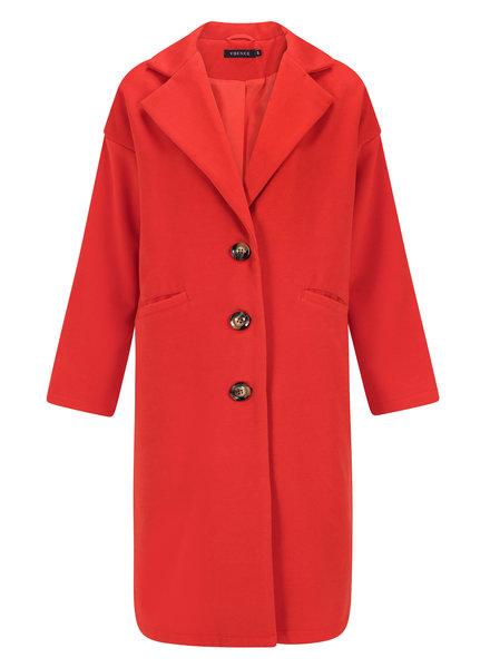 Ydence Ydence, Coat Daisy, Red