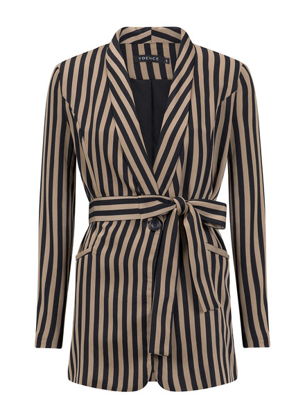 Ydence Ydence, Blazer Nine, Black stripe