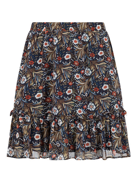 Ydence Ydence, Skirt Philou, Brown flower print