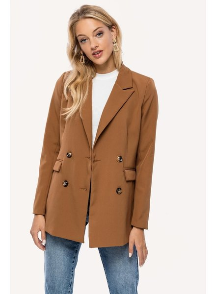 Loavies Blazer Steal The Day, Camel