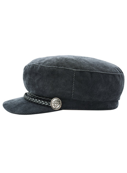 YW, Sailor hat corduroy, Grey