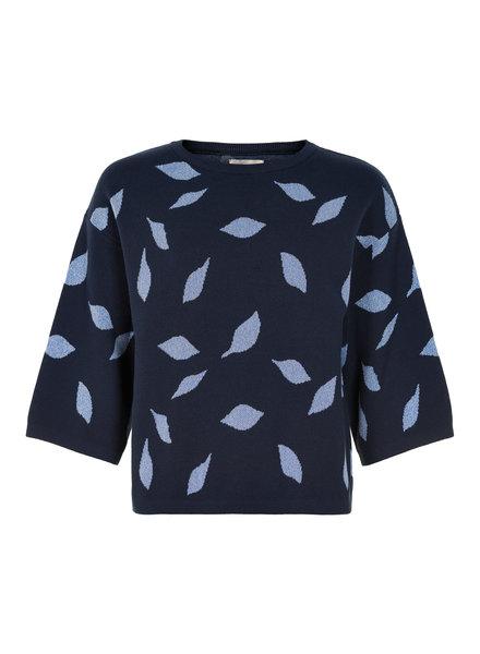 Nümph Numph, Lettise pullover, Dark blue