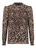 YDENCE BLOUSE MARIE LOU, BRUIN
