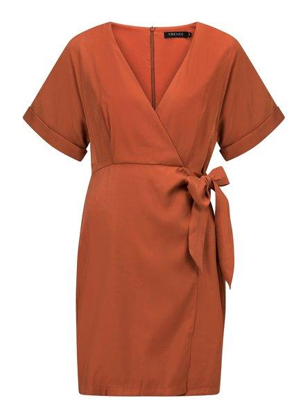 Ydence Dress Anja, Rust