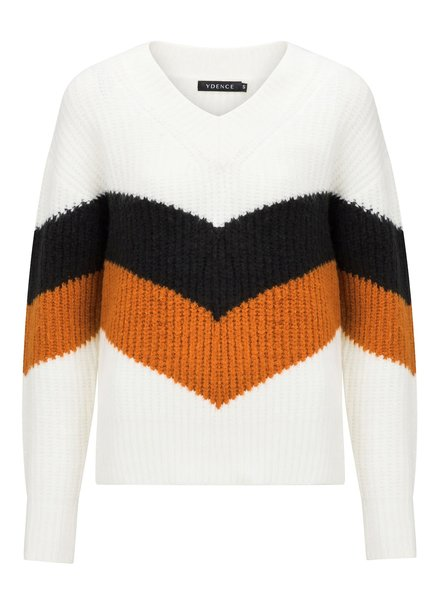Ydence Ydence, Knitted Sweater Juno, Black