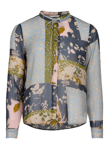 Nümph Nümph, Numehri Shirt, Ombre Blue