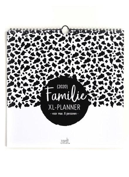 zoedt Zoedt, Familieplanner XL 2020